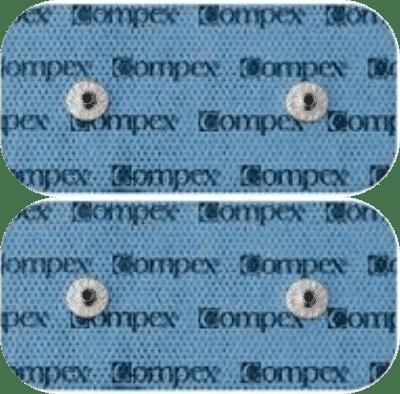 Electrodos Compex Snap 5x10 (dobles)